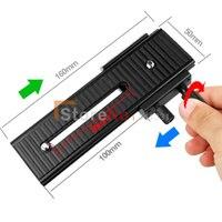 100 New Fotomate LP 01 2 Way Macro Focus Focusing Rail Slider Fo DV Camcorder DSLR