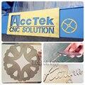 Хорошая продажа cnc AccTek 1390 co2 280w металлическая трубка для лазерной резки металла и неметалла