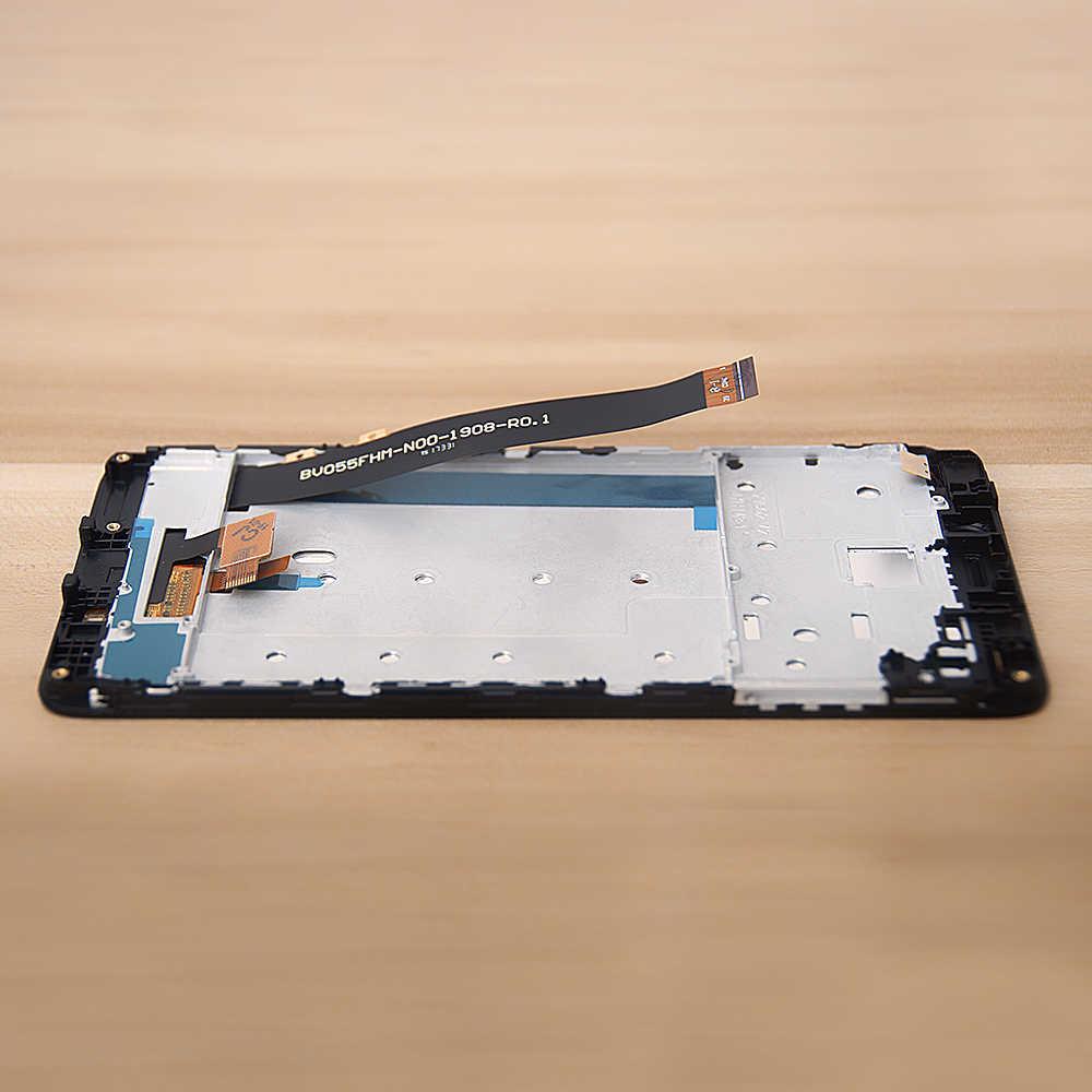 الأصلي الهاتف المحمول LCD ل شاومي Redmi نوت 4 شاشة الكريستال السائل مجموعة المحولات الرقمية لشاشة تعمل بلمس الإطار MTK Helio X20 نسخة LCD
