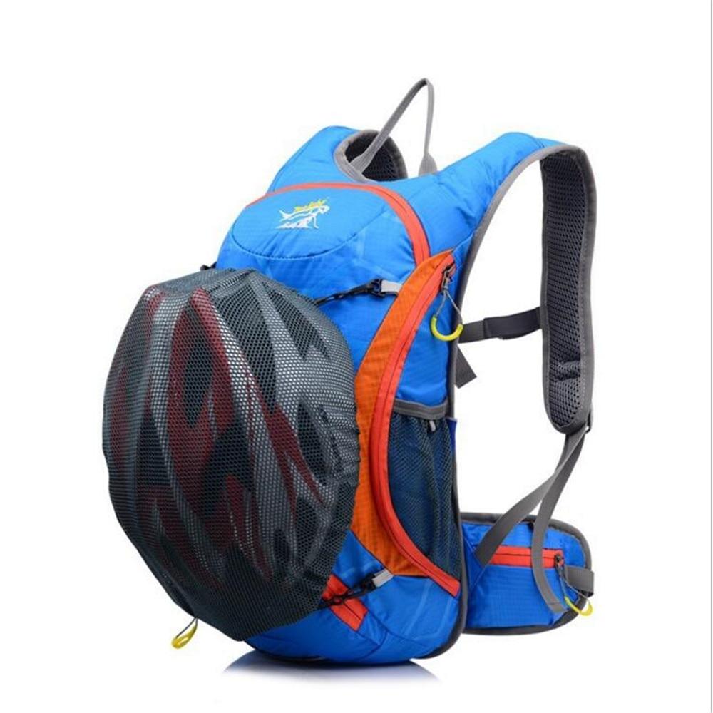 Bike Cycling Bags 15L Ultralight Outdoor Bag Men Women Small Skiing Sports Traveling Bag Rose Purple Waterproof Cycling Backpack