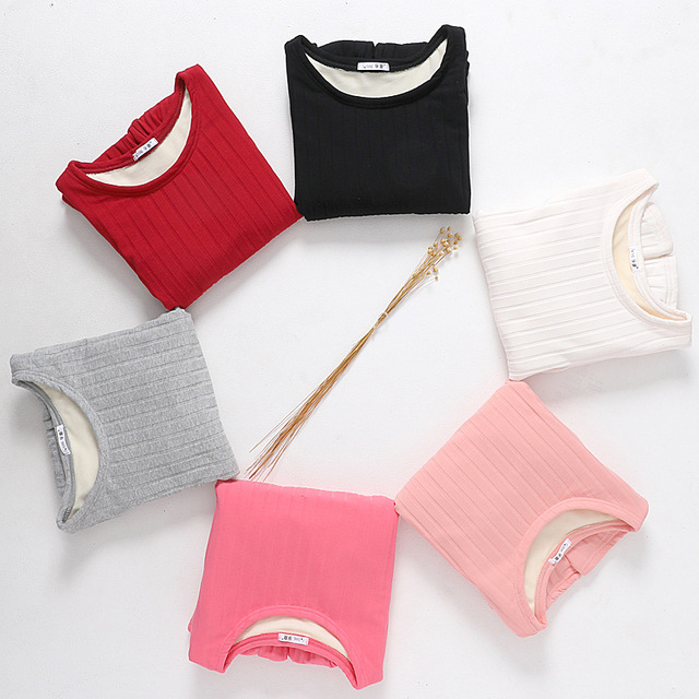 Women Autumn Winter Warm T Shirt Long Sleeve Warm Thick Velvet T-Shirts Female Bottoming Shirt Tops Plus Size 3XL Women Tshirts