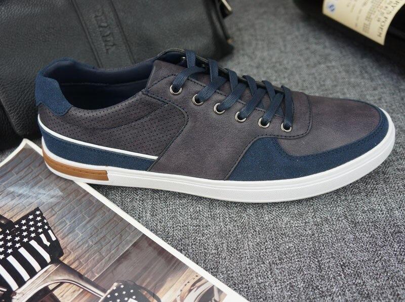 Trendy Herren Schuhe Casual men blue