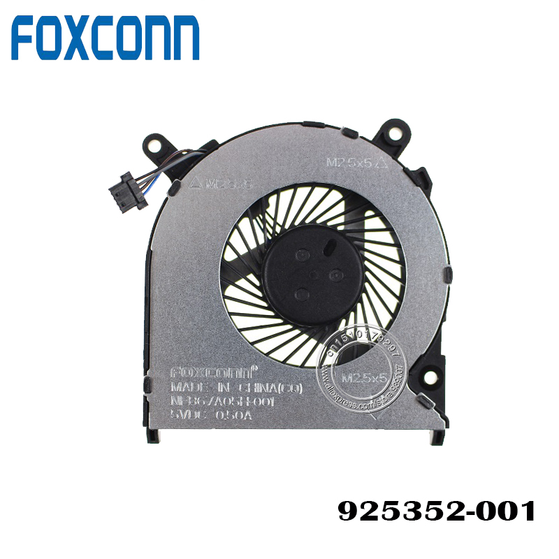 NEW ORIGINAL CPU COOLING FAN FOR HP Pavilion 246 240 G6 TPN-Q187 14Q-BY001AX 925352-001 NFB67A05H-001 DC 5V 0.5A FAN COOLER