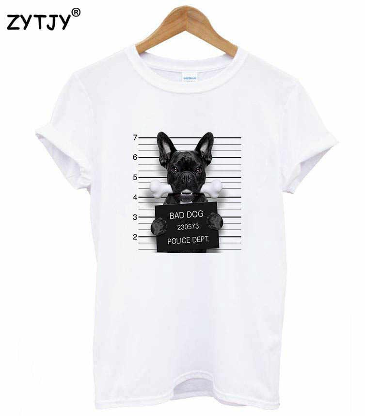 11 tasarımlar mugshot kötü köpek Baskı Kadın tshirt Pamuk Rahat Komik t shirt Bayan Üst Tee Hipster Tumblr Damla gemi Z-965