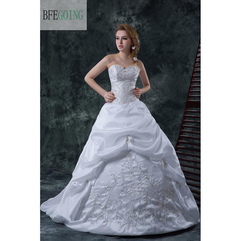 Aliexpress.com : Buy Luxurious Taffeta Bridal Dress Floor