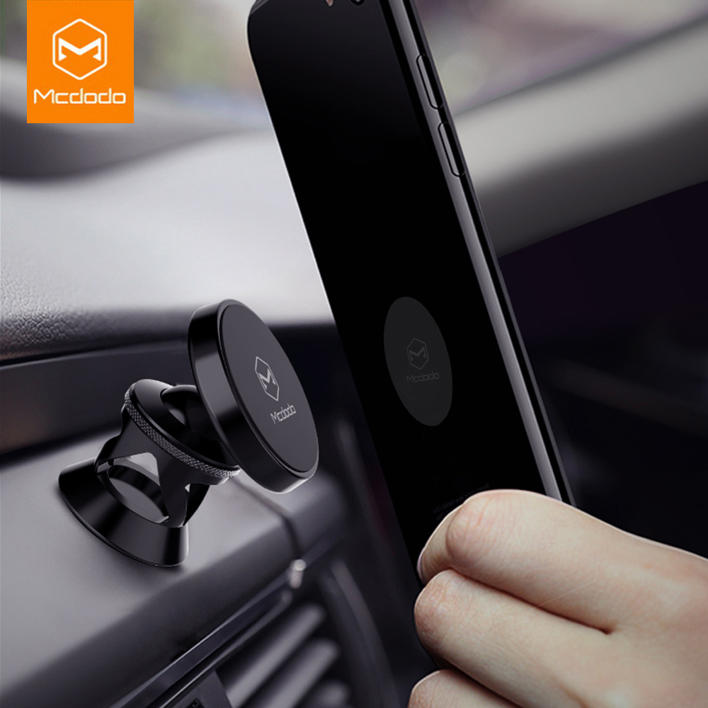 Mcdodo Car Phone Holder For iPhone 7 Samsung 360 Degree Magnetic Mobile Phone Holder Air Vent Mount Car Cell Phone Holder Stand mobile phone