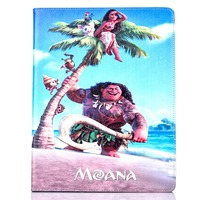 Tablet Case For Apple Ipad Air1 Fashional MOANA Movie Prints PU Leather Protective Cover Stand Shell