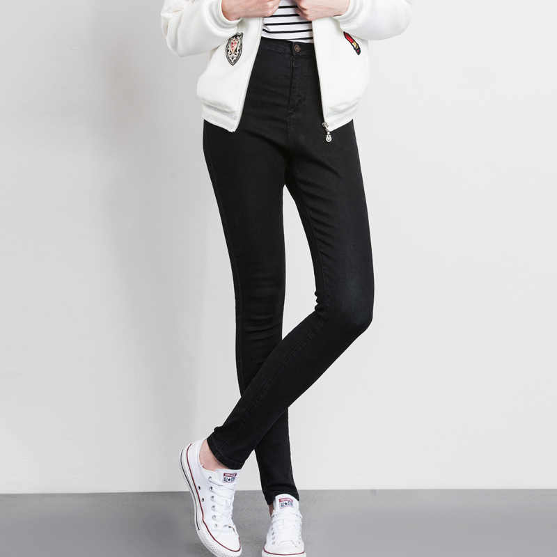 00242a7adcc ... LEIJIJJEANS 2019 women push up jeans Plus Size women pants High Waist  Full Length Women Casual ...