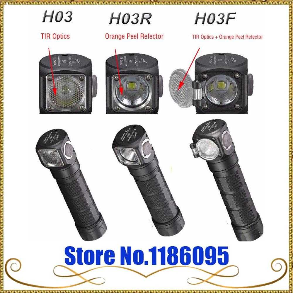 Nouveau Skilhunt H03 H03R H03F Lampe de poche LED Lampe Frontale Cree XML1200Lm phare chasse pêche Camping lumière + bandeau