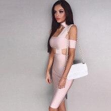 Seamyla New Sexy Summer Dress 2018 Women Bodycon Bandage Dress Clubwear Vestidos Night Out Evening Party