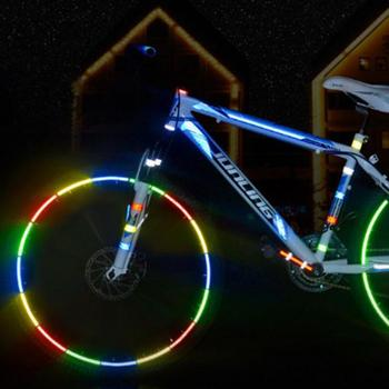 8m/26.2ft Wheel Reflective Sticker Rim Tape for Bike Car Motorcycle Accessories Car Styling Wheel Rim Sticker Tap High Quality image