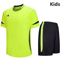 Новые детские футболки для футбола, спортивные костюмы для футбола, дышащие быстросохнущие детские футболки для мальчиков