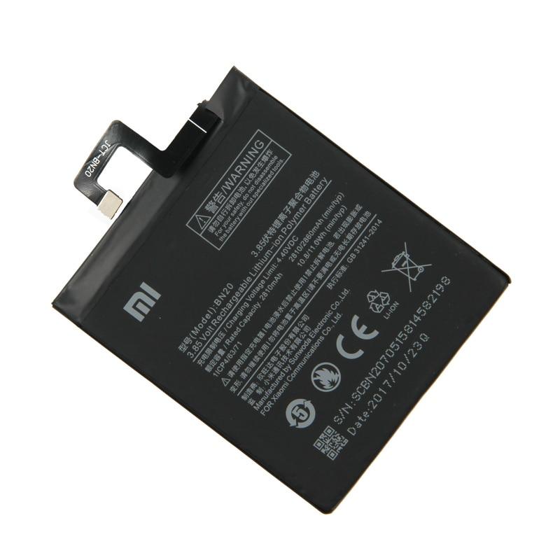 Xiaomi Original BN20 Phone battery For Xiaomi Mi 5C M5C Phone 2860mAh in Mobile Phone Batteries from Cellphones Telecommunications