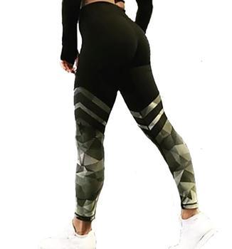 Γυναικεία Κολάν Γυμναστικής Λεπτή Υψηλή Μέση Αθλητικά και Δραστηριότητες Γυναικεία Παντελόνια Ρούχα Χόμπι MSOW