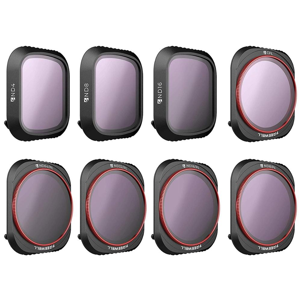 ND32//PL ND8 ND16//PL ND16 CPL ND64//PL Compatible with Parrot Anafi Drone Freewell All Day-8Pack ND4 ND8//PL