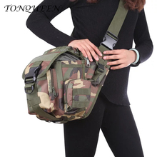 Outdoor Tactical Bag Camouflage Military Bags For Sports Oxford Waterproof Waist Men with Single Strip Camera WX109