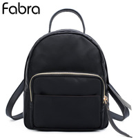 Fabra Nylon Waterproof Women Backpack Fashion Small School Shoulder Bags Backpacks Girls Travel Travel Backpacks Daypacks