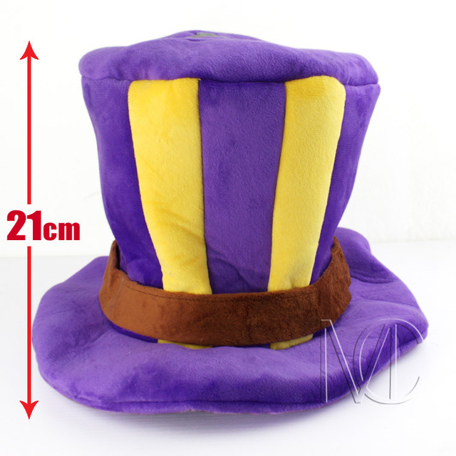 Cool Game LOL Caitlyn Purple Cotton Hat lol Caps Cosplay Chirstmas gift