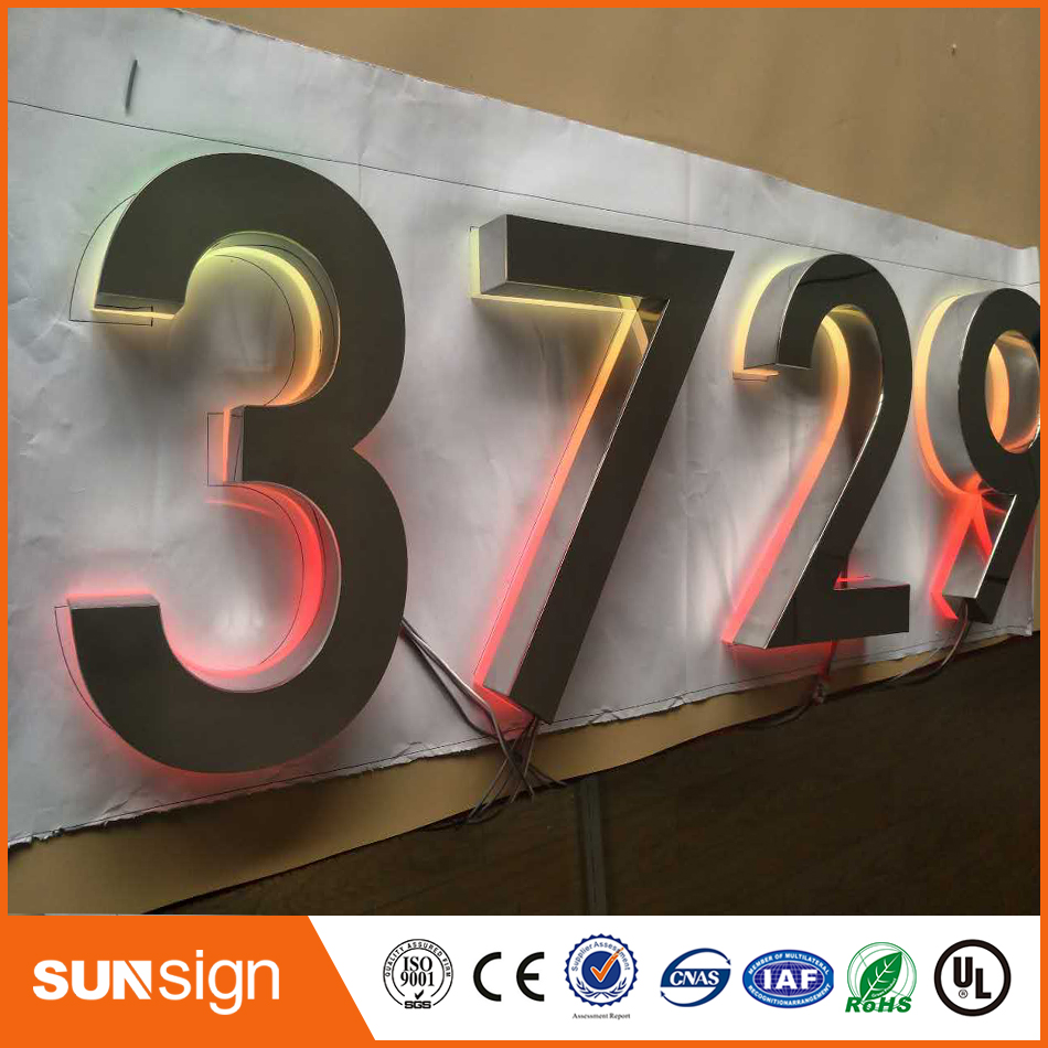 Popular Design Outdoor RGB Frontlit Letters