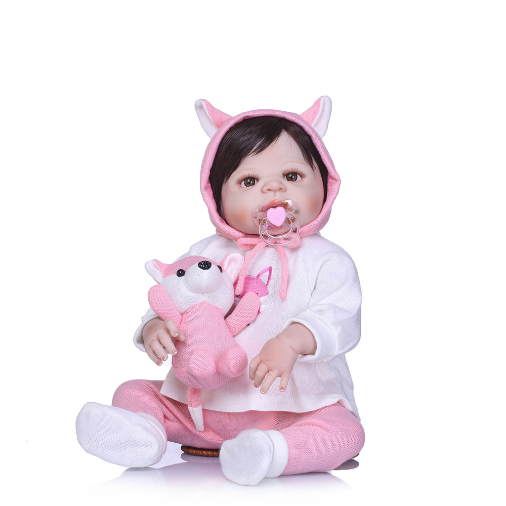 23 Full body silicone vinyl reborn Toy Lifelike baby toys Real touch bebe alive infant dolls baby Child play house briquedos23 Full body silicone vinyl reborn Toy Lifelike baby toys Real touch bebe alive infant dolls baby Child play house briquedos