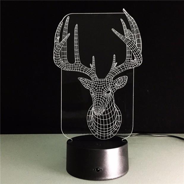 Deer Bedroom Lampe 8