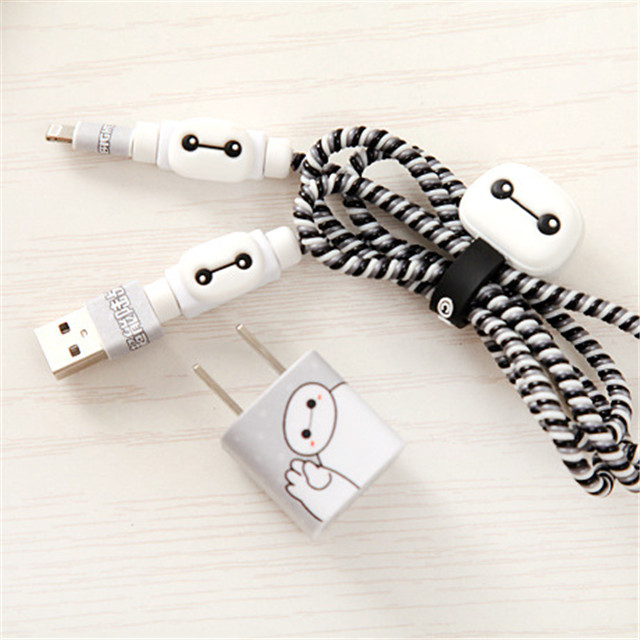 No charger/cable Data Cable Protective Sleeve For iPhone X XR XS Max 7 8 6 6s plus 5 5s USB Cable Charger Protector Rope Winder