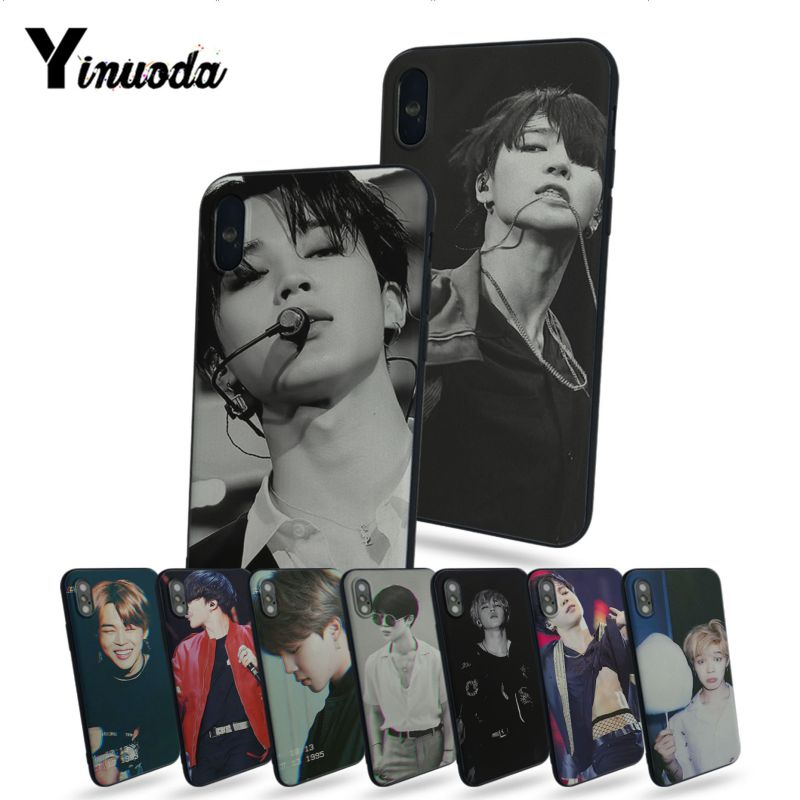 Lvhecn Jungkook Kpop Bts Phone Case Cover For Iphone 6 6s 7 8 X Xr Xs Max 5 5s Se Samsung Galaxy S5 S6 S7 Edge S8 S9 Plus Soft And Antislippery Cellphones & Telecommunications