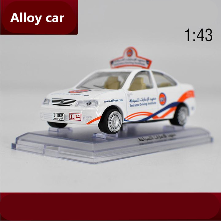 High simulation Nissan Emirates Taxi 1 43 alloy car models metal diecasts collection font b toy