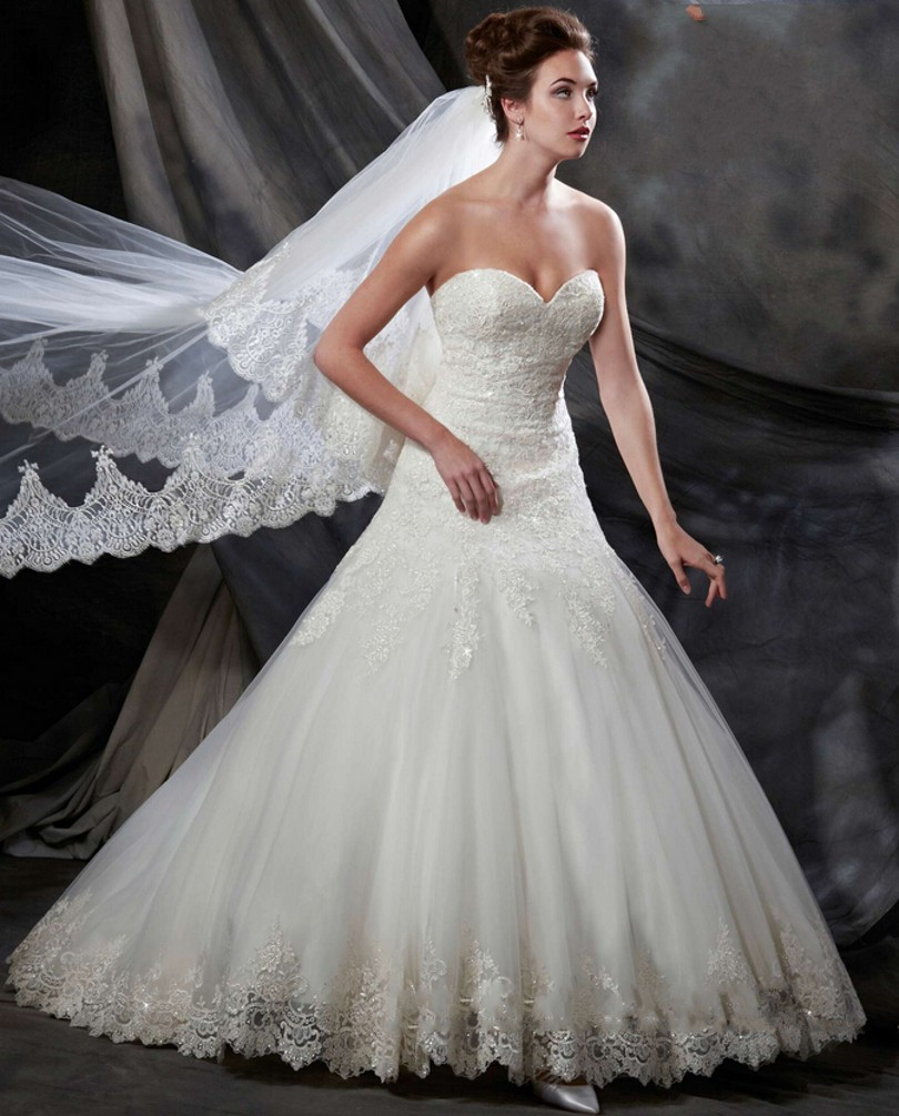 wedding dresses fairy tale wedding dresses Justin Alexander front