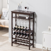 wood standing bar cabinet wine cabinet display cabinet bar furniture with cup holder free shipping