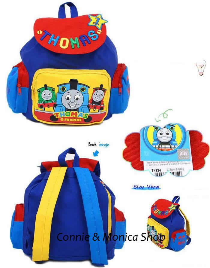 Brand Thomas And Friends School Bag Preschool Backpacks Toddler 1t 2t 3t 4t Baby Nursery Boys S Mochilas Escolares Gift In Bags From Luggage