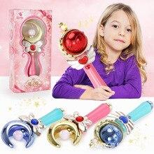 Волшебная палочка бар девушка бабочка Луна солнце свет светящиеся блестящие blсветодио дный led подарки на день рождения взаимодействие игры игрушки для девочек