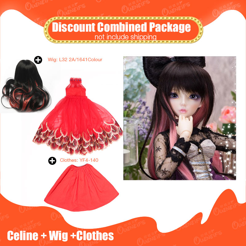 OUENEIFS Minifee Celine add Wig and beautiful Clothes Discount Combined Package on Nov 11 Unbelievable price without facp up learn han lee ab mutalib nurul syakima and kok gan chan novel bacteria discovery mumia flava gen nov sp nov