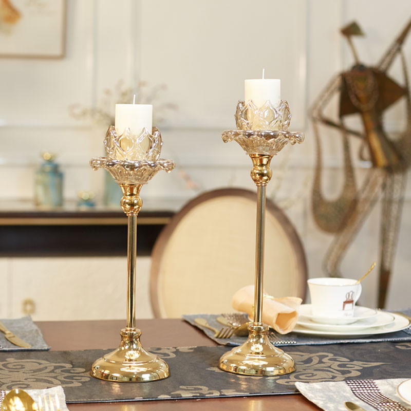 Candle Stand Golden Holder