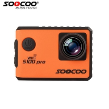 RU Local Delivery SOOCOO S100Pro 4K Sport Action Camera Wifi 2.0 Touch Screen Voice & Remote Control with Gyro GPS Extension