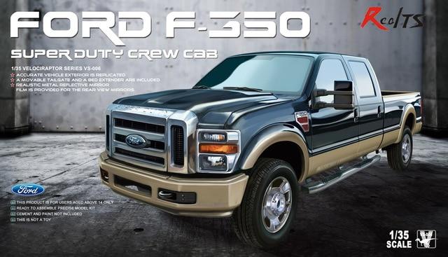 Realts Meng Model Vs 006 1 35 Ford F 350 Super Duty Crew Cab In