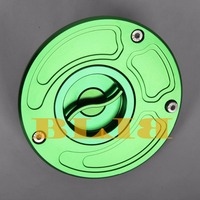 8 Colors CNC Billet Tank Fuel Cover For Kawasaki ZX10R ZX14R ZX1100 ZRX1200R Ninja 300 Motorcycle Oil Cap Accessories Gas Cap