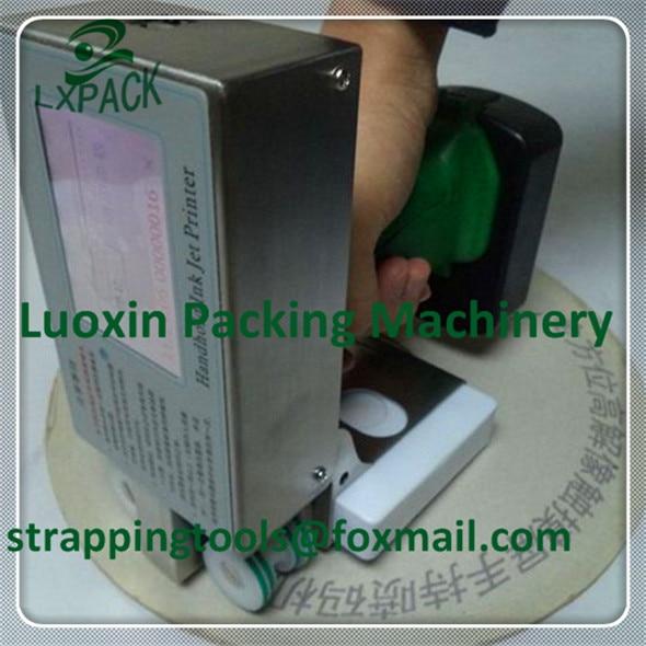 LX-PACK prix usine le plus bas encre-Jet Systeme impression sans contact marquage datation numérotation codage imprimante de codage mobile