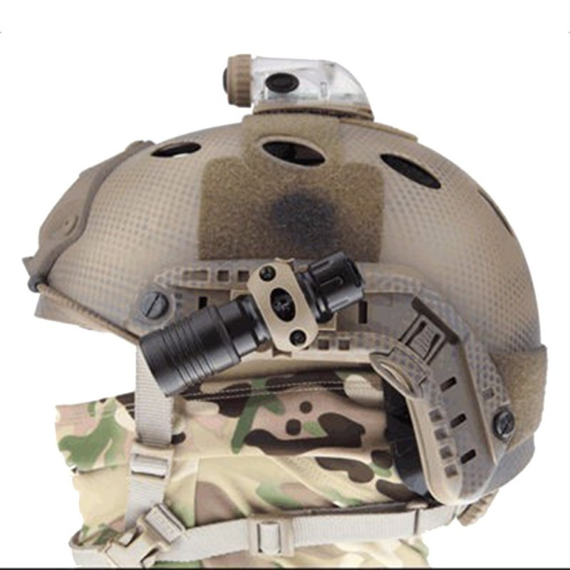 New arrived fast helmet universal rail type OPS helmet accessories removable multi-purpose bracket 2017 hole diameter 2CM