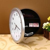 Hidden Secret Wall Clock Safe Money Stash Jewellery Storage Container Box