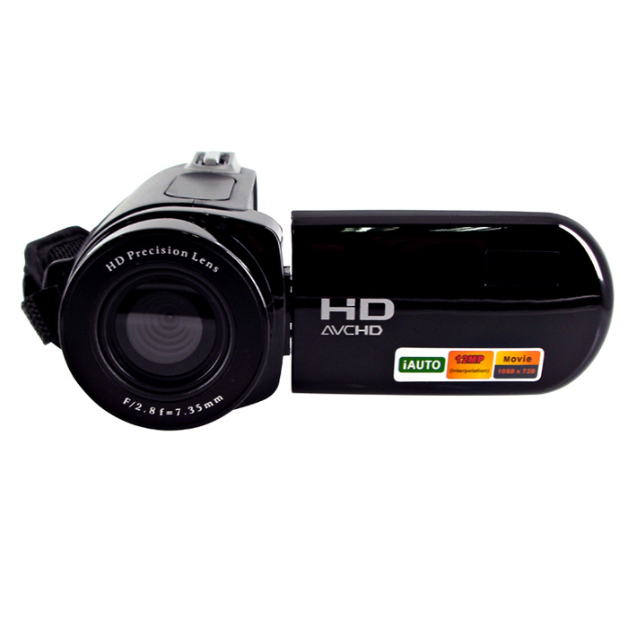 Cheap digital video camera HD-E5 12mp 720p hd 8X digital zoom 2.4 LCD display  photo camera video camcorder 2017 new 20mp 8x optical zoom cheap digital camera quality digital camera 2 7 screen 720p hd video lithium battery