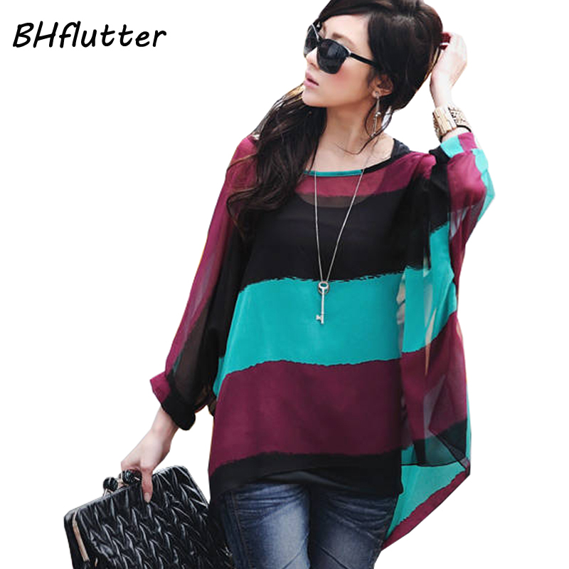 Women   Blouses   New Arrival 2019 Plus Size Women Clothing Summer   Blouse     Shirt   Woman Vintage Chiffon   Shirts   Tops Chemise Femme