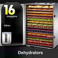 ST 02 Commercial Dried Fruit Machine Fruit Vegetable Dehydration Food Air Dryer Pet Food Dryer Fast