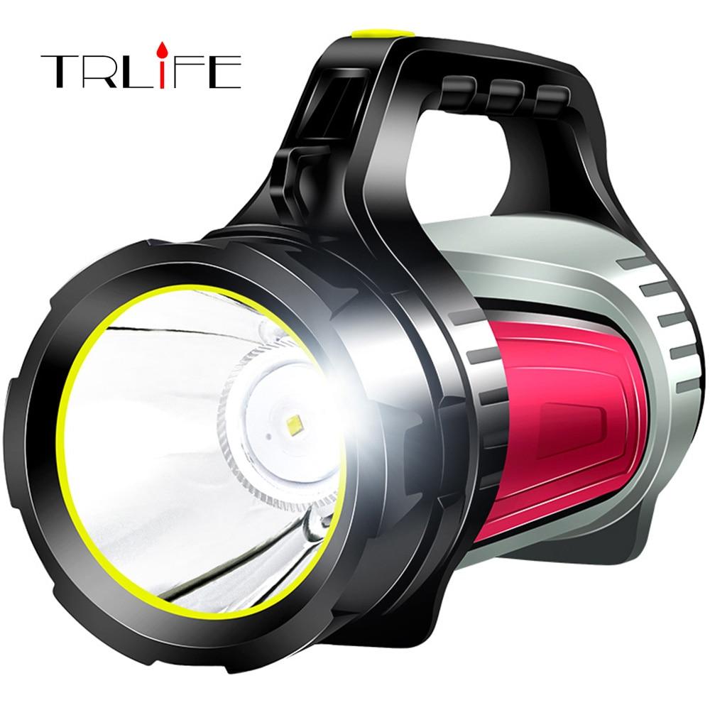 Eingebaute 4400 mAh Batterie LED Taschenlampe Handed Tragbare USB Aufladbare 30 W Taschenlampe Suchscheinwerfer Multi-funktion Lange Aufnahmen Lampe