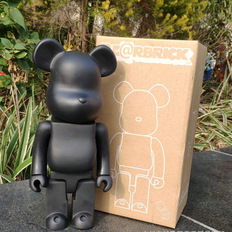 11inch 400% Bearbrick Bear@brick Action Figures Block Bear PVC Model Figures DIY Paint Dolls Kids Toys Children Birthday Gifts