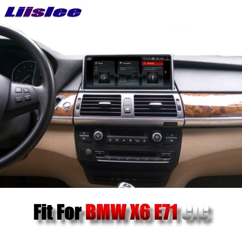 цена на For BMW X6 E71 2011~2014 LiisLee Car Multimedia 10.25