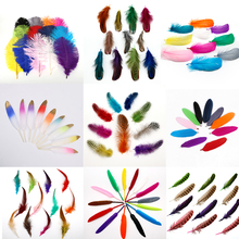 Clothing-Accessories Plumes Wedding-Decoration Natural for Diy-Making 13-Styles 4-20cm