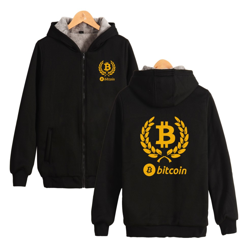Bitcoin Winter Hoodies