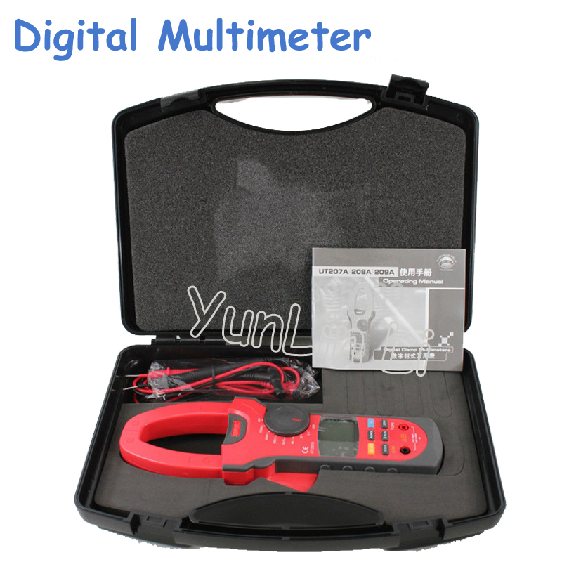 цена на LCD Digital Multimeter AC/DC Volt Amp Ohm Hz Tester Multi-Functional Digital Multimeter UT207A