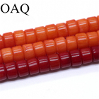 Wholesale 4x6mm square Coral beads Natural Stone spacer Loose beads for jewelry making DIY Bracelets